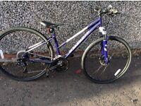 Ladies Specializeg Ariel Hybrid Bike Xs / S
