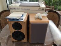 Pair Eltax monitor 3 speakers