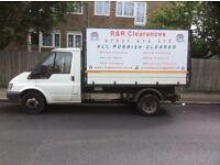 Rubbish Clearance, Junk, Builders Rubble, House, Garden, Shed, Loft, Basement, Soil & Trees Cleared