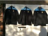 Man City jackets x 3