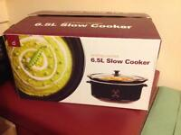 Slow cooker 6.5L Andrew James BRAND NEW