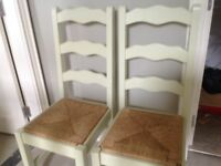 2 Kitchen Chairs