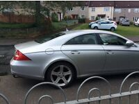 Mercedes cls 2006 silver mot til march 2008. Great condition.