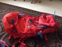 Camping rucksack 60 litres bag