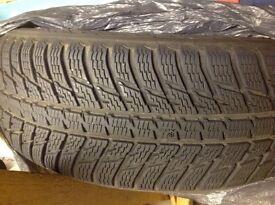 4 x 235/60/18 winter tyres