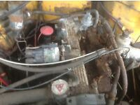 Ldv engine and box 38000 miles only