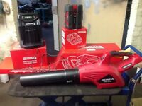 HONDA CORDLESS LEAFBLOWER + HEDGECUTTER + FAST CHARGER+ BATTERY. ALL BRAND NEW .