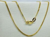 18K Solid Gold Fine Chain / Necklace 18 inch, 1.5mm 💷