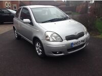 Toyota Yaris T spirit vvt-I 1.3 16 v top model loads extras 11 months mot