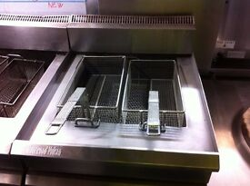 COMMERCIAL CATERING GAS FRYER FAST FOOD CAFE KEBAB FISH CHIPS TAKE AWAY SHOP RESTAURANT HOTEL PUB