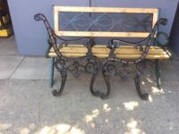 Lions head bench ends