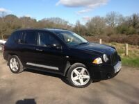 JEEP COMPASS 2.0 CRD LIMITED. RECENT CAMBELT DRIVES GREAT PERFECT FAMILY CAR HEATED LEATHER SEATS