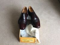 pair of gents Barker shoes