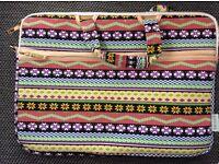 "Laptop bag 15"" Aztec pattern BRAND NEW"