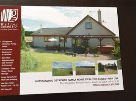 OUTSTANDING COUNTRY HOME INCLUDING LAND AND OUTBUILDINGS