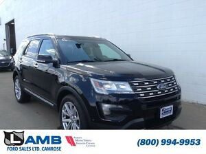 2016 Ford Explorer 4WD Limited Moonroof Trailer Tow Active Park