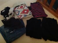 Bundle of maternity clothes for sale