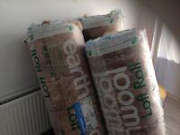 Loft insulation x3 rolls