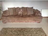 2 large 4 seater sofas