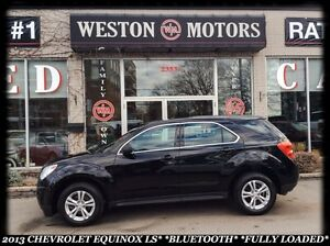 2013 Chevrolet Equinox LS*BLUETOOTH*FULLY LOADED*