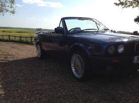 BMW E30 RARE CHANGE 325I MANUAL