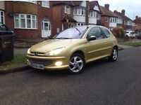 Peugeot 206xsi with 12months MOT and Full Service History
