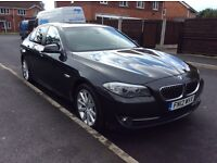 BMW 5 SERIES 2.0 SE DIESEL AUTOMATIC 2012 full BMW SERVICE HISTORY 11 months mot miles 104000