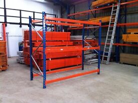 PLANNED STORAGE P85 HEAVY DUTY COMMERCIAL WAREHOUSE PALET RACKING BAY UNIT