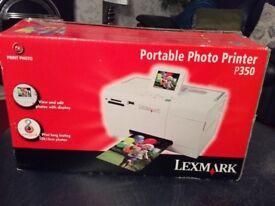 Lexmark Portable Photo Printer P350.