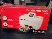 Lexmark Portable Photo Printer P350.