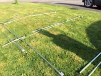 Metal caravan Awning poles