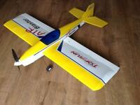 RC aeroplane air blaster