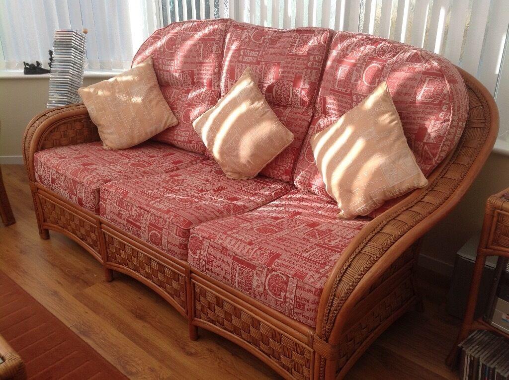 Cottage Cane 5 piece furniture set