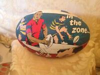 Rare Gilbert rugby ball