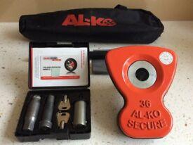 ALKO Al-ko Caravan Wheel Lock No 36. Excellent Condition