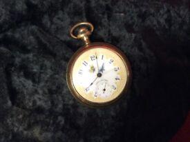 Unique Waltham pocket watch