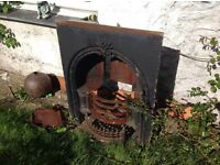 Original Vintage Fire Surround