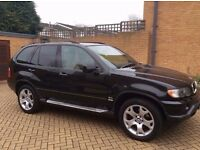 02 BMW X5 3.0I SPORT BLACK WITH BEIGE LEATHERS - PX WELCOME ( P/X PART EXCHANGE SWAP CONSIDERED)
