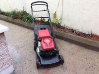 Mountfield RV150 Self drive petrol lawnmower. 18 inch cut. Large box. Good going reliable machine.