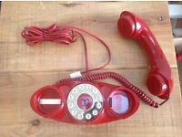 Retro office desk phone