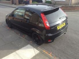 2006 fiesta ST 150 remapped motd 85k miles lowered may part ex or swap try me...