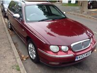 Rover 75 TOURER 2.0 CDT Red 5dr, Cheap but reliable, part service history, only £400