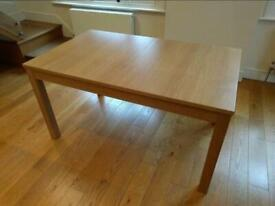 Ikea extendable Table Bjesta hardly used. Condition like new.