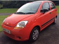 CHEVROLET MATIZ 0.8sBRIGHT RED LONG MOT EXCELLANT CONDITION 60mpg cheap tax insurance