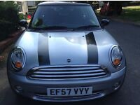 Lovely Mini Cooper 1.6 with low mileage.