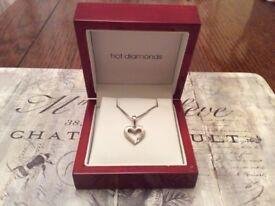 Hot Diamonds Sterling Silver Necklace