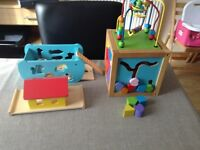 Activity cube and Noah's Ark