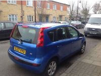 2007 Nissan Note 1.4 Good Condition with 1 Owner history and mot