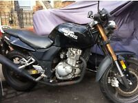 Sinnis Stealth 125 - low price for quick sale; great learner bike