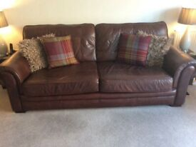 4 seater sofa and two armchairs